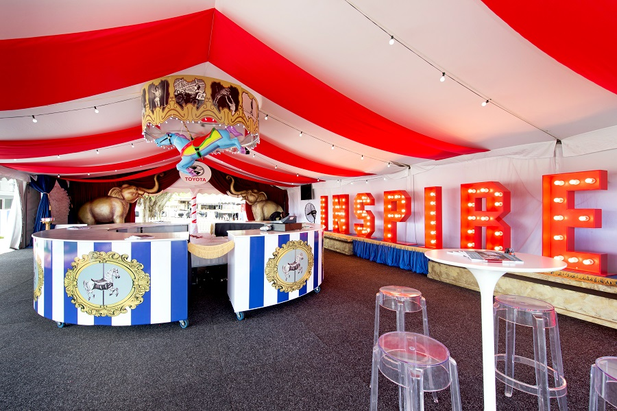 Circus Themed Marquee